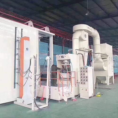 Sheet Metal Powder Coating Line4