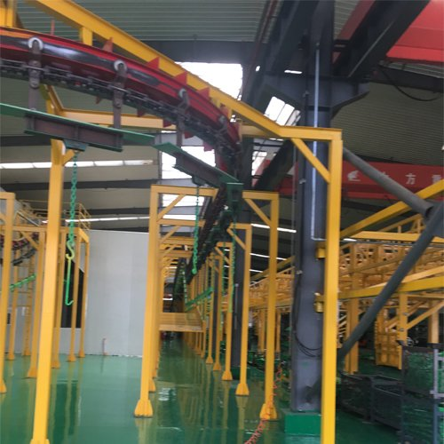 Tower Crane Powder Coating Production Line