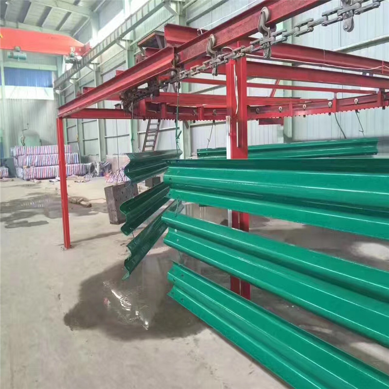 Guardrail Powder Coating machine 05