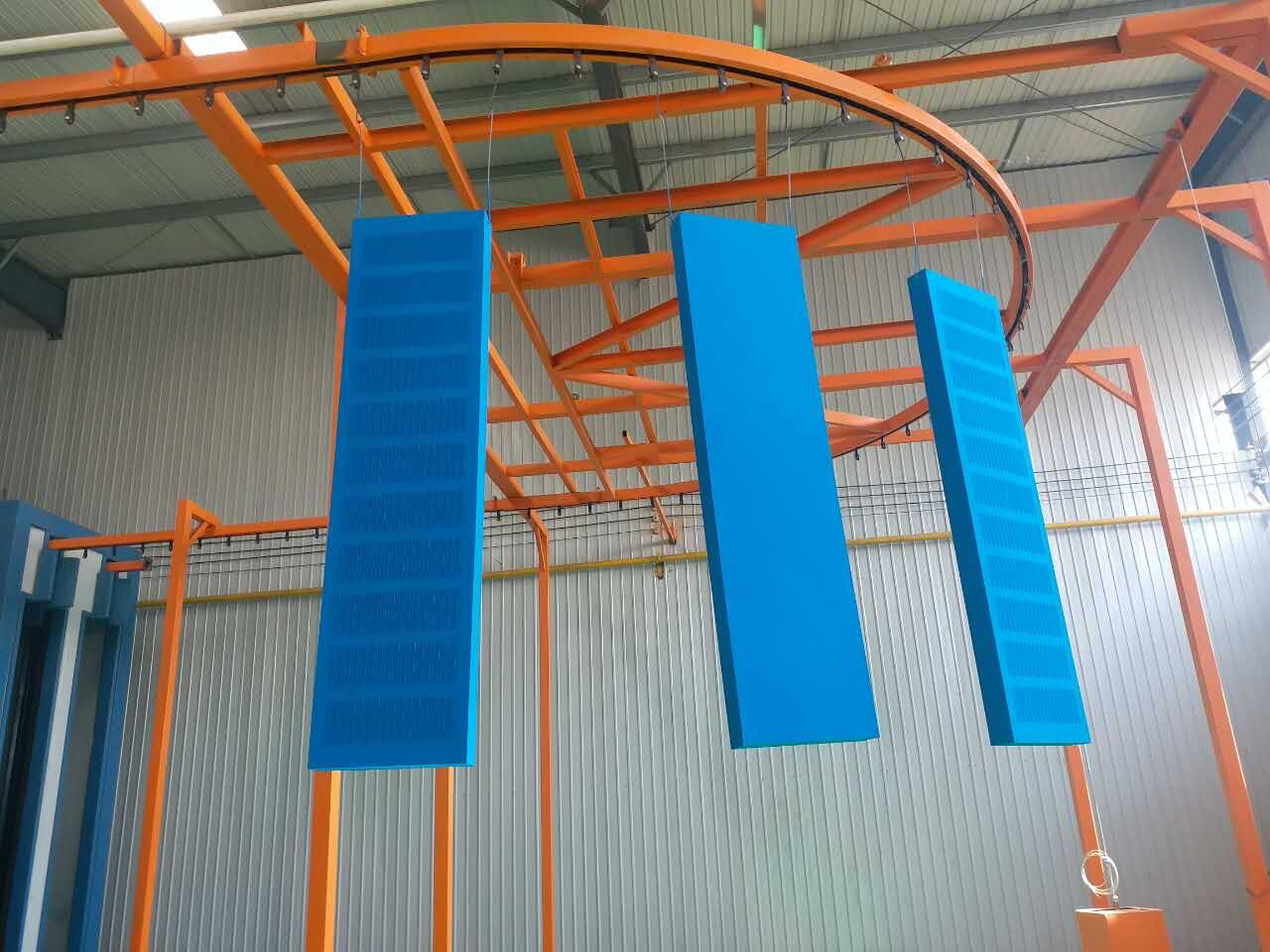 Shelves Powder Coating Machine 01