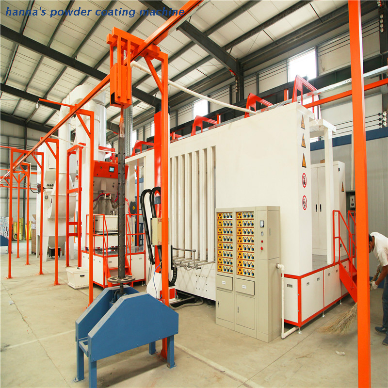 Fast automatic color change spraying booth (4)